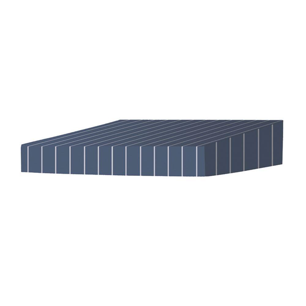 6 ft. Classic Non-Retractable Door Canopy (50 in .Projection) in Tuxedo