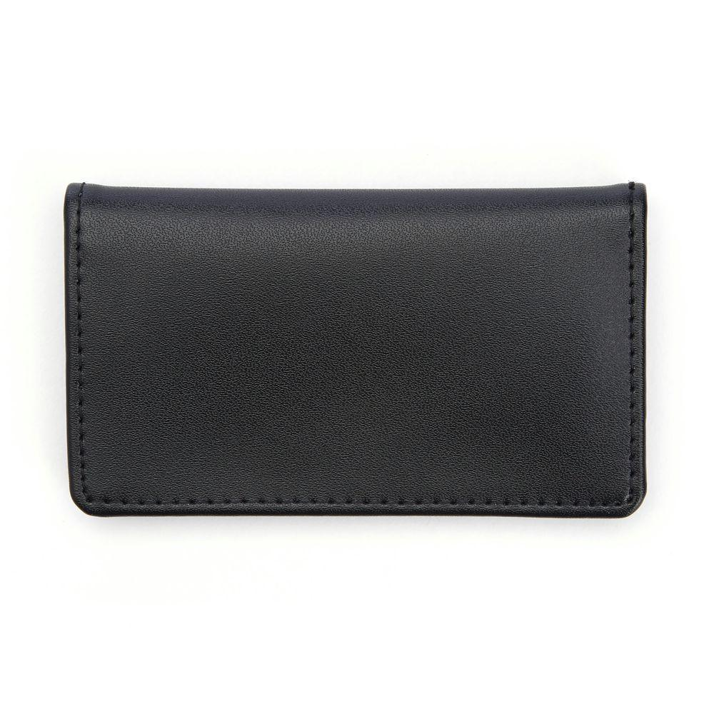 competitive price price reduced on feet shots of Royce Genuine Leather Business Card Case Wallet, Black