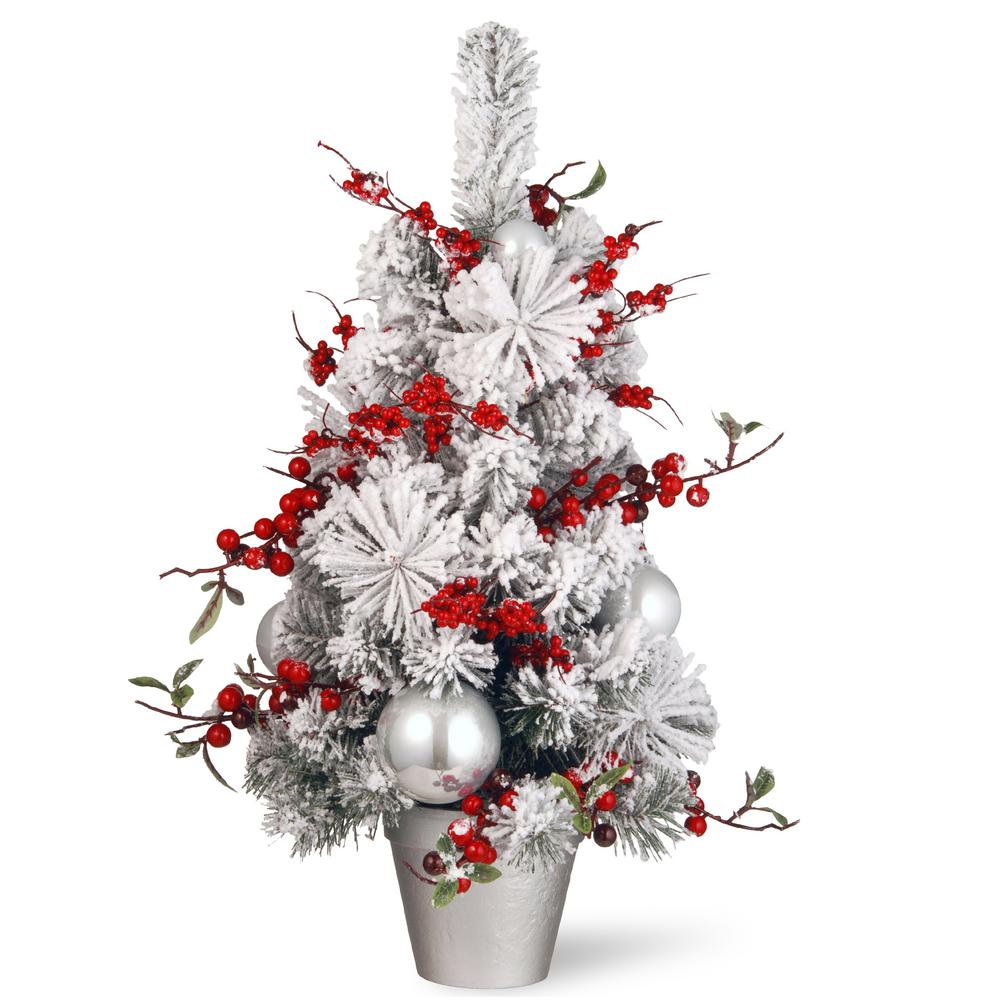 National tree company 24 in christmas tree rac j509x24 for Home depot christmas decorations