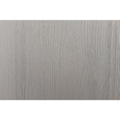 Faux Materials Grey Distressed Wood Wall Adhesive Film (Set of 2)