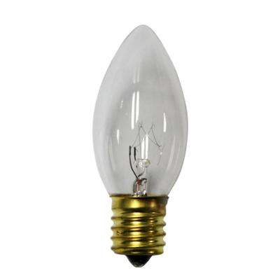 C7 Clear Color Replacement Light Bulbs (8-Pack)
