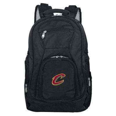 NBA Cleveland Cavaliers Black Backpack Laptop