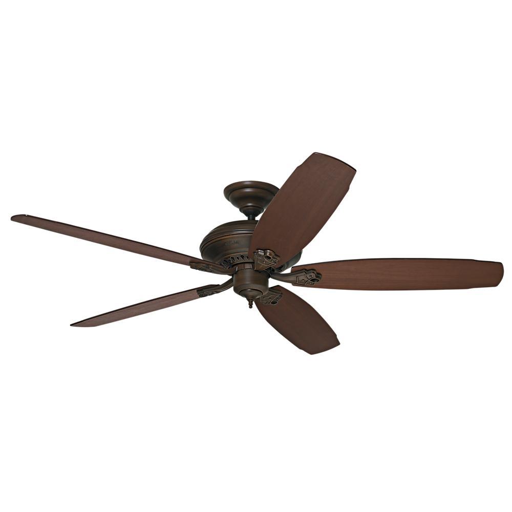 Large Ceiling Fan For Great Room: Hunter Headley 64 In. Indoor Cocoa Bronze Ceiling Fan