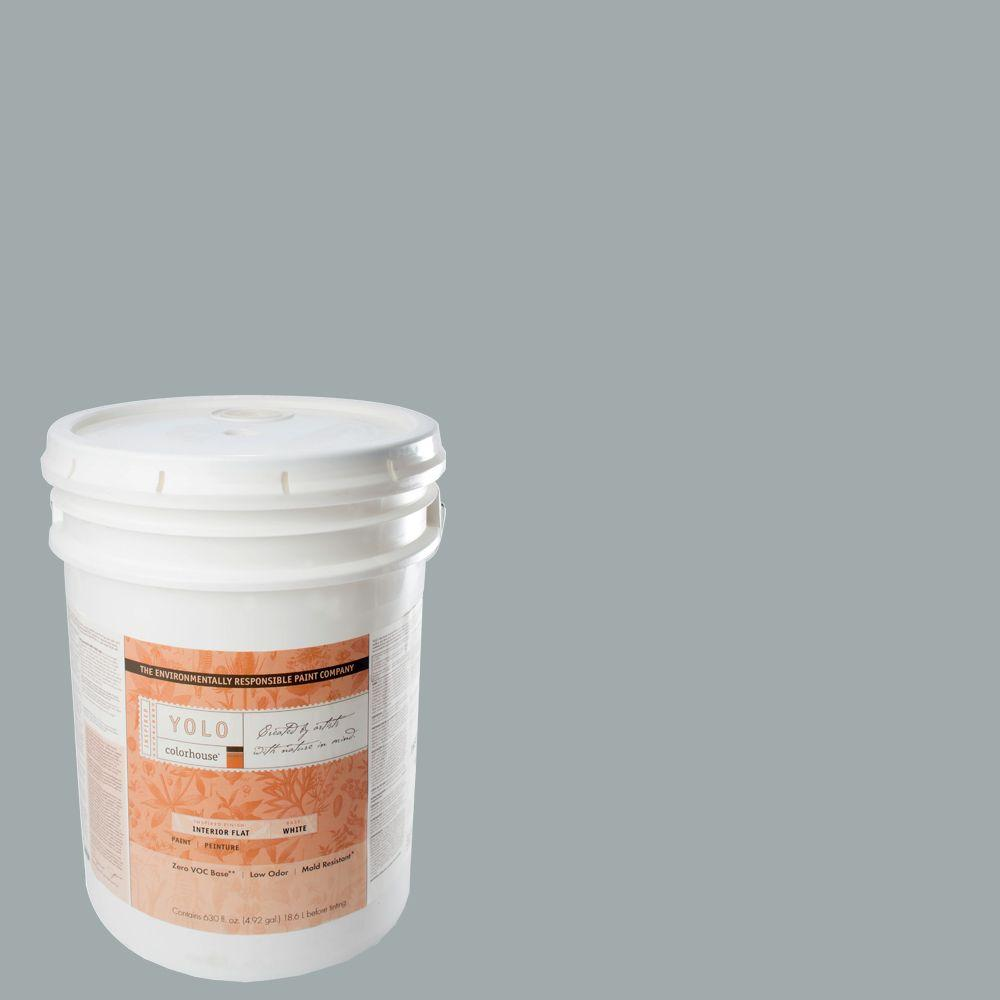 YOLO Colorhouse 5-gal. Wool .03 Flat Interior Paint-DISCONTINUED