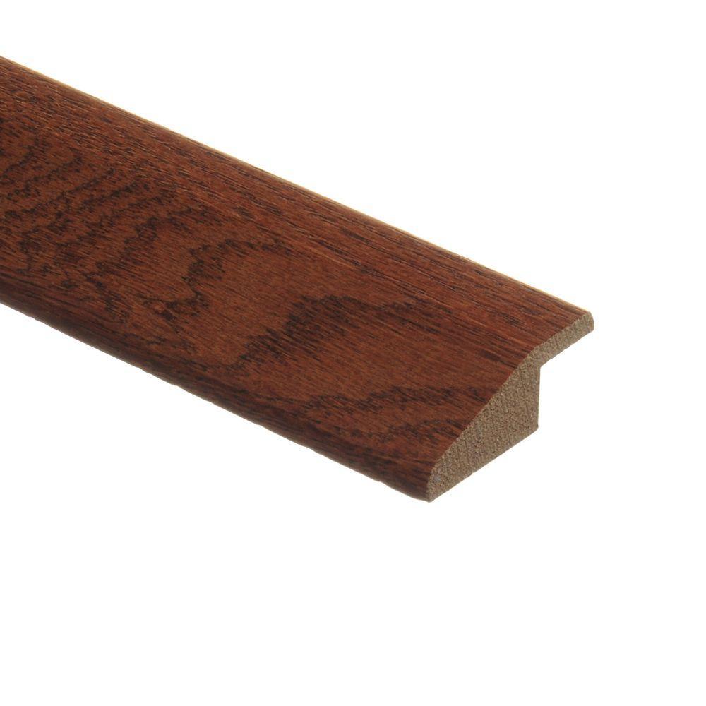 Zamma Oak Gunstock/Natural Oak Parquet Cherry 3/8 in. Height x 1-3/4 in. Wide x 80 in. Length Wood Multi-Purpose Reducer