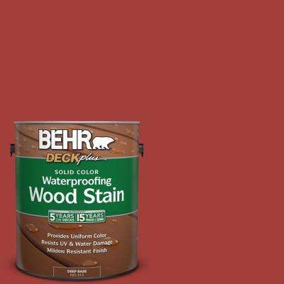 1 gal. #P140-7 No More Drama Solid Color Waterproofing Wood Stain