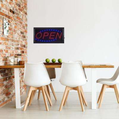 Neon LED Open Sign with Animation