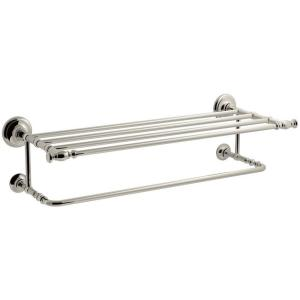 More Like This Cur Item Artifacts Hotelier Towel Rack In Polished Chrome