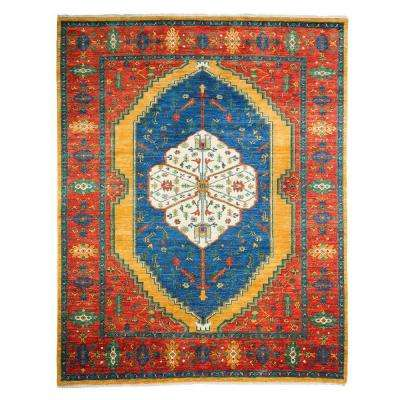 Ziegler Gold 8 ft. x 10 ft. Indoor Area Rug