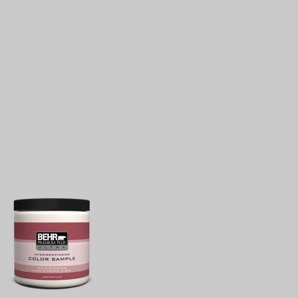 BEHR Premium Plus Ultra 8 oz. #790E-2 Gentle Rain Interior/Exterior Paint Sample