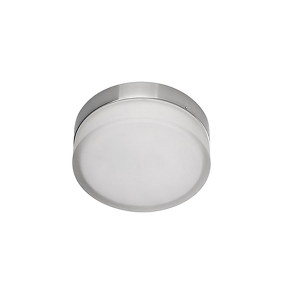 Radionic Hi Tech Melissa Chrome 40-Watt Equivalence Integrated LED Ceiling Flush Mount