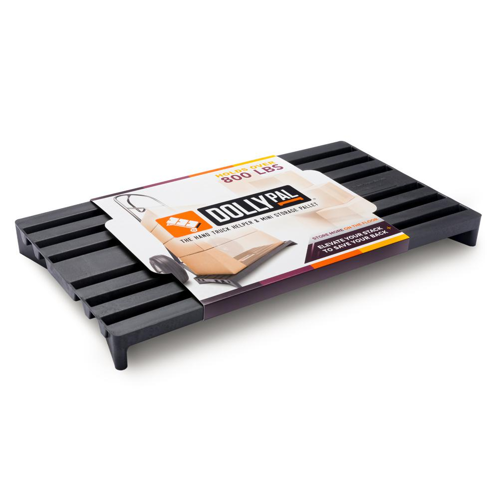 Dolly Pal 1500 lb. Capacity 18 in. W x 10 in. L Mini Pallet for Hand Trucks and Storage (2-Pack)