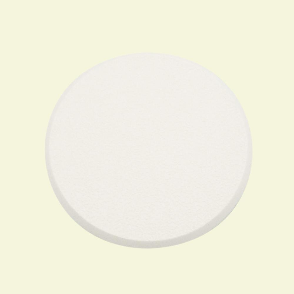 3 1/4 in., Rigid Vinyl, White, Self Adhesive Wall Protector