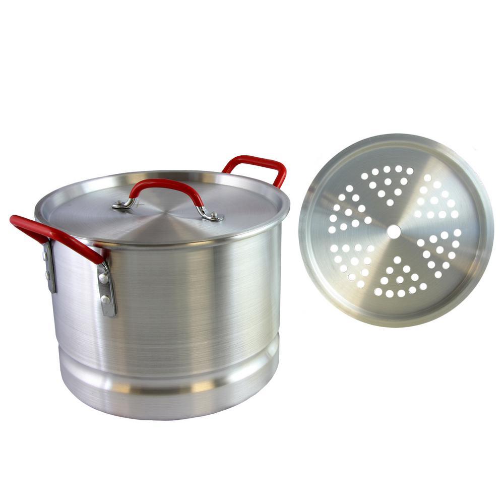 Pamona 12 Qt. Tamale Pot with Steamer Insert