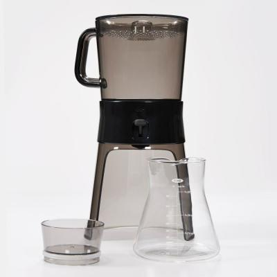 Good Grips 4-Cup Gray Cold Brew Drip Coffee Maker with Filter