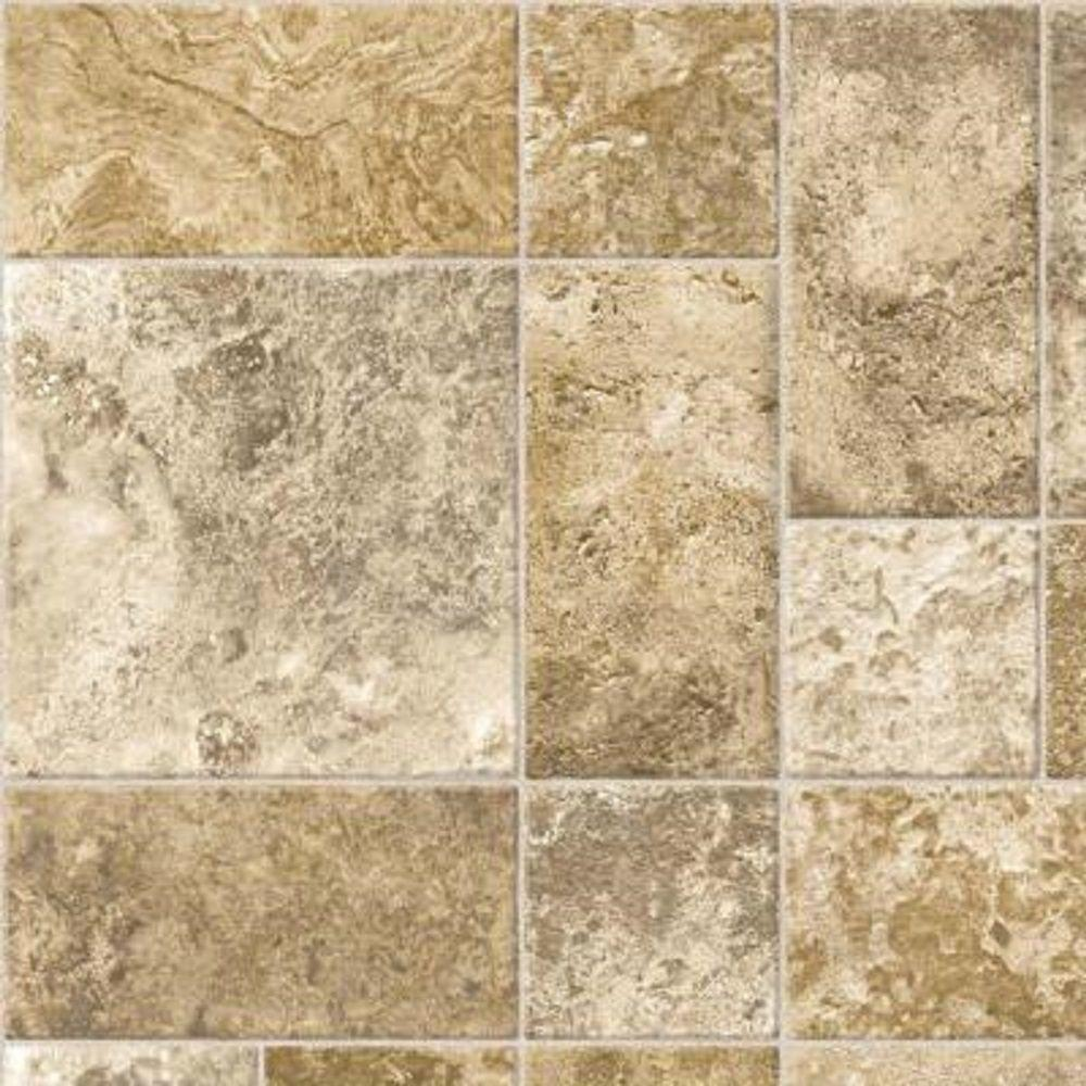 Take Home Sample - Bristol Gateway Stone Vinyl Sheet Flooring -
