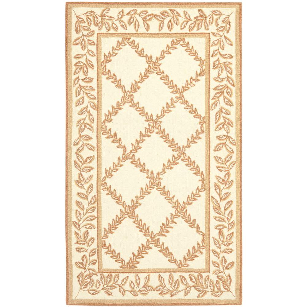 Chelsea Ivory/Camel 2 ft. 9 in. x 4 ft. 9 in.