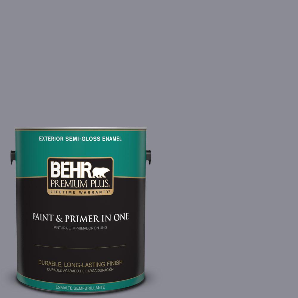 1-gal. #ECC-23-2 Heather Field Semi-Gloss Enamel Exterior Paint