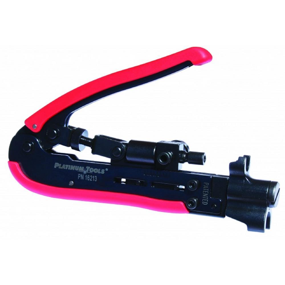 SealSmart Procon Compression Crimp Tool with CATV and CCTV Networks