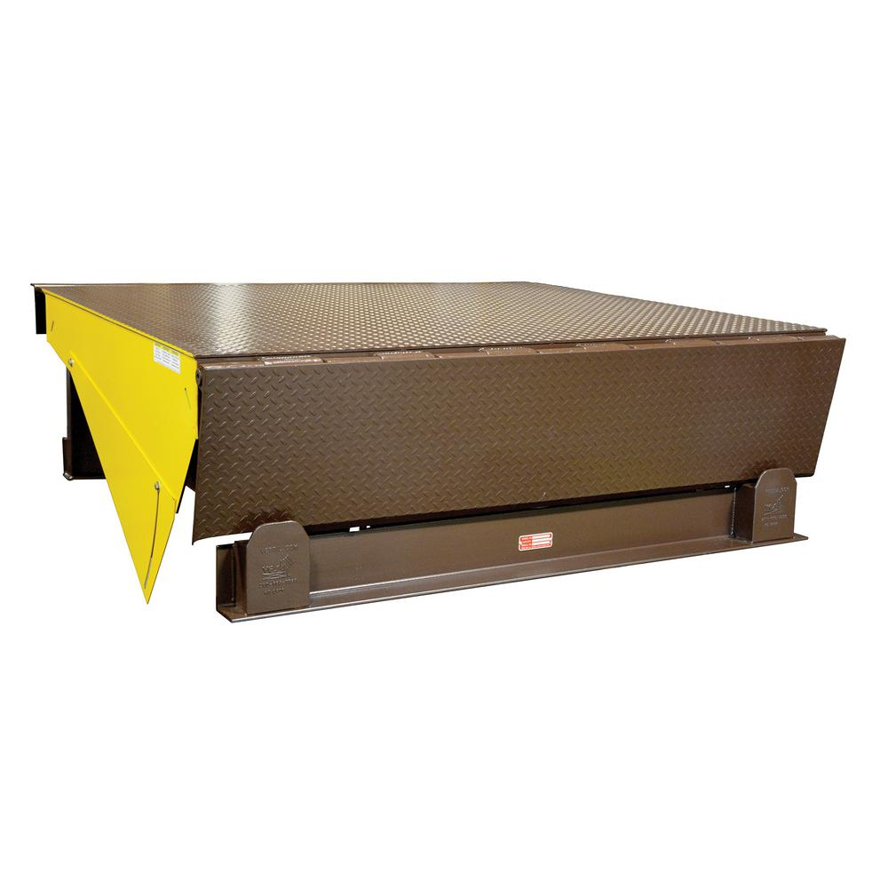 25,000 lb. Capacity 6 ft. x 6 ft. Electric Hydraulic Dock