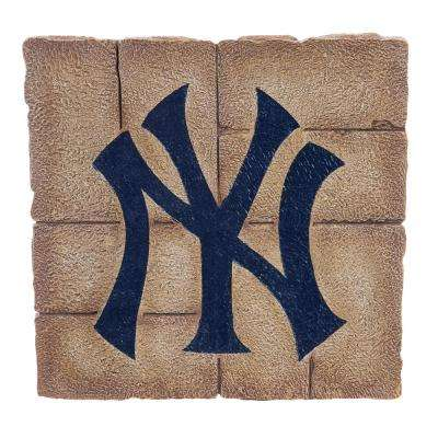 New York Yankees 12 in. x 12 in. Decorative Garden Stepping Stone