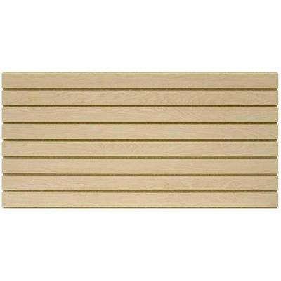 2 ft. x 4 ft. Maple Slatwall Easy Panel (2-Piece per Box)