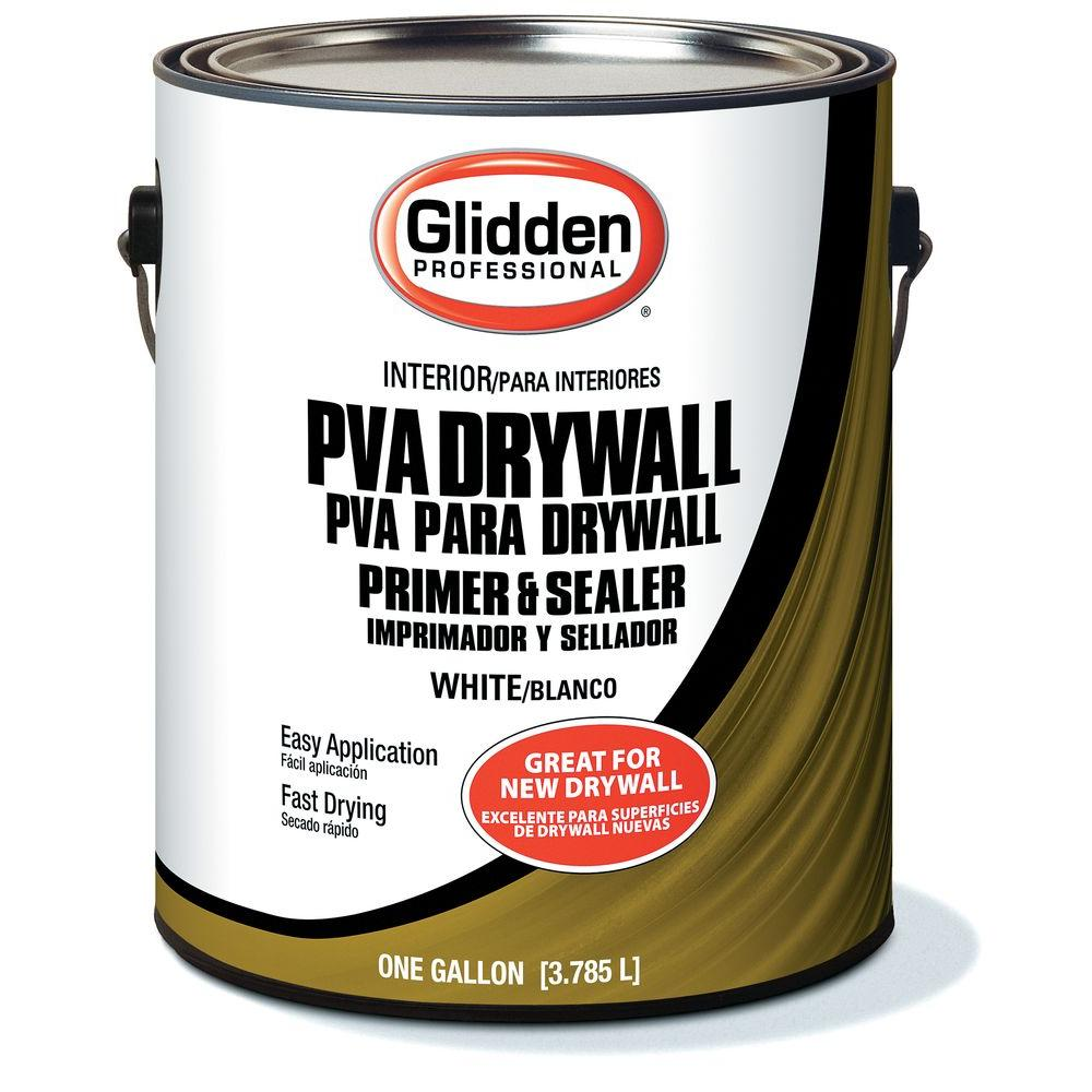 Glidden PVA 1 gal. Latex Drywall Interior Primer
