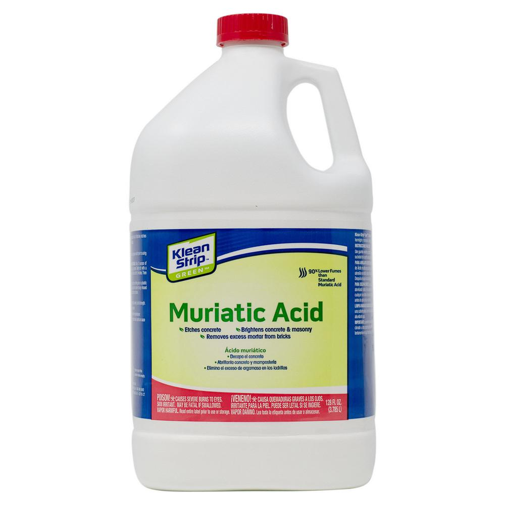 Klean-Strip Green 1 Gal. Green Muriatic Acid