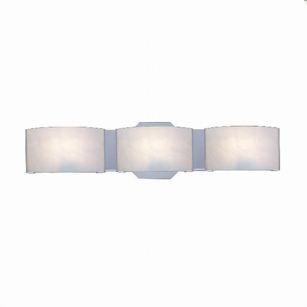 Hampton Bay Dakota 3 Light Satin Nickel