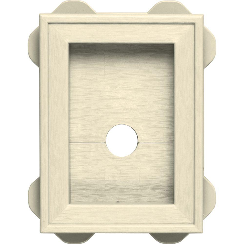 5.5 in. x 8.625 in. #020 Heritage Cream Wrap Around Mounting