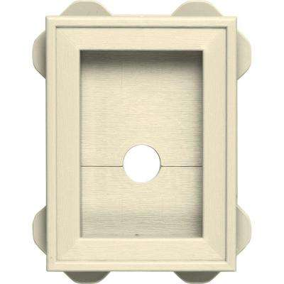 5.5 in. x 8.625 in. #020 Heritage Cream Wrap Around Mounting Block