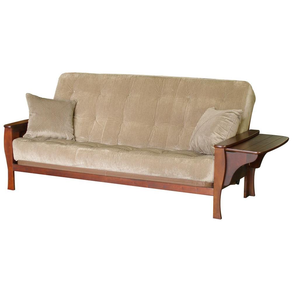 big tree big tree brewster cohiba futon z69985ssf022   the home depot  rh   homedepot