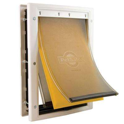 5-1/8 in. x 8-1/4 in. Small Extreme Weather Pet Door