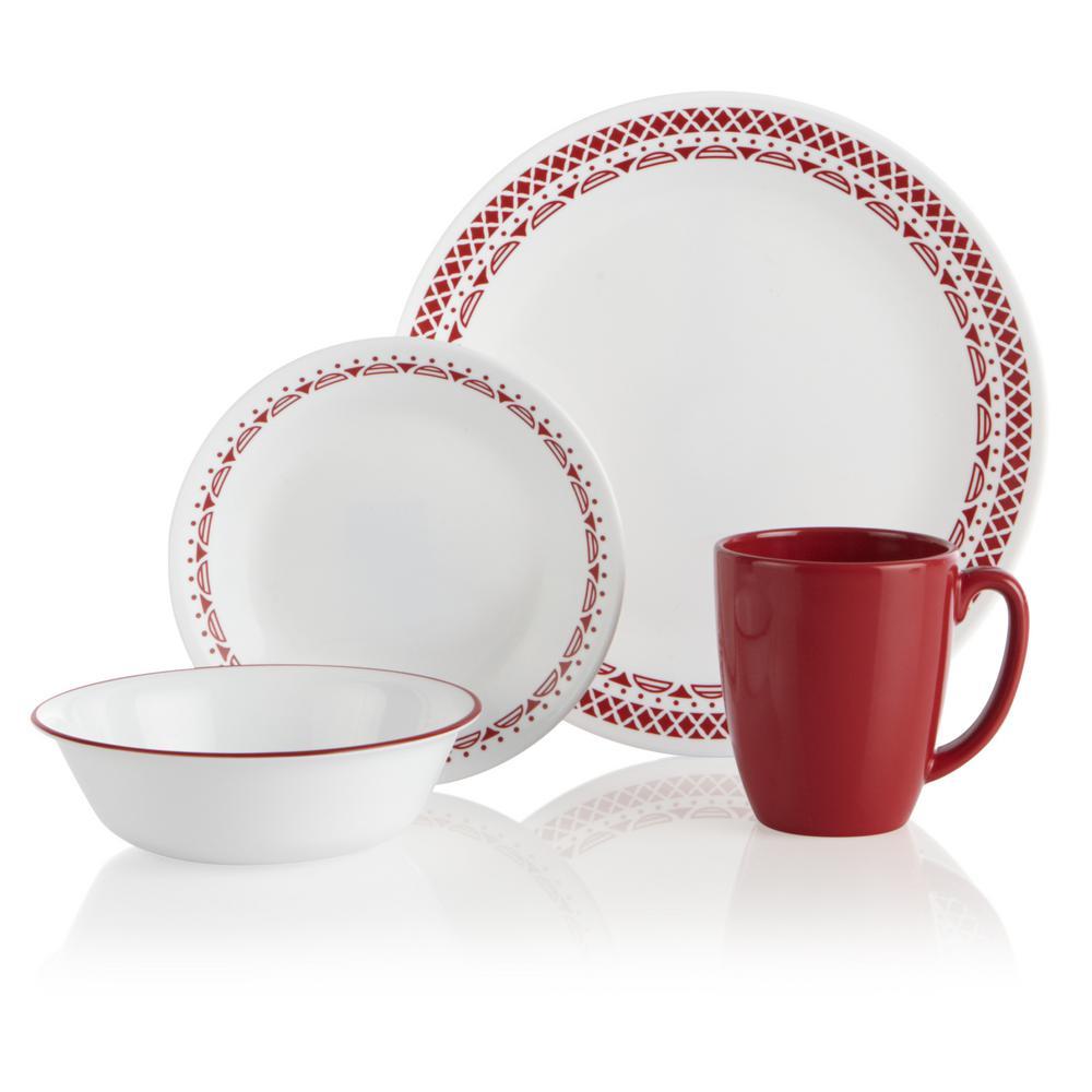Corelle Classic 16-Piece Cordoba Dinnerware Set 1135282