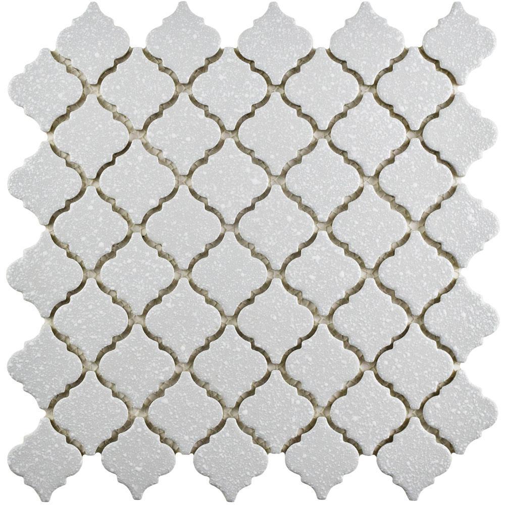 Hudson Tangier Crystalline Grey 12-3/8 in. x 12-1/2 in. x 5