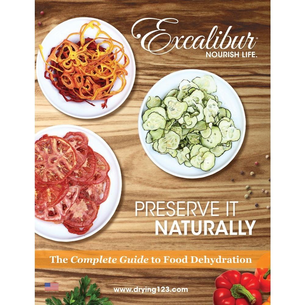 Excalibur Complete Guide to Food Dehydration Book