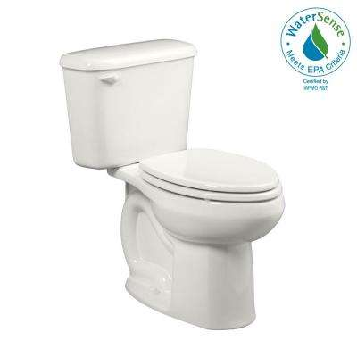Colony Tall Height 10 in. Rough-In 2-piece 1.28 GPF Single Flush High-Efficiency Elongated Toilet in White