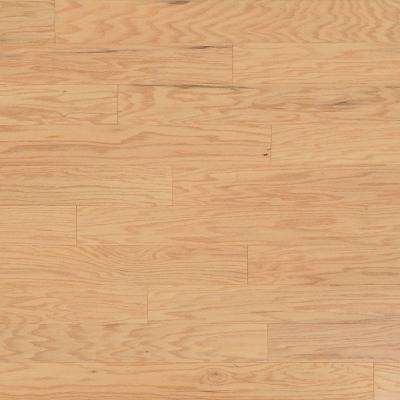 Scraped Oak Alabaster 1/2 in. Thick x 5 in. Wide x Random Length Engineered Hardwood Flooring (31 sq. ft. / case)
