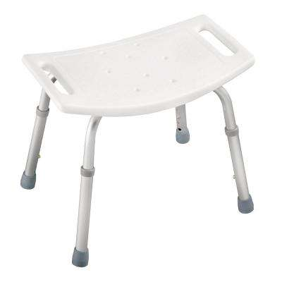 14 in. x 4 in. Adjustable Bathtub and Shower Safety Seat in White
