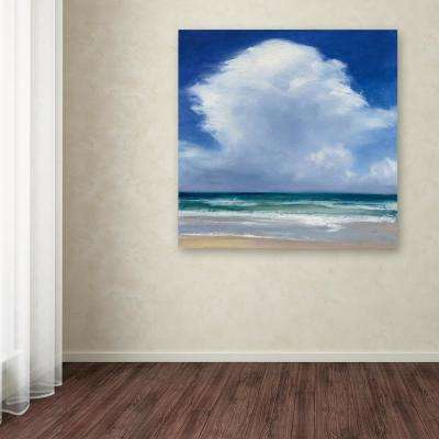 "24 in. x 24 in. ""Beach Clouds II"" by Julia Purinton Printed Canvas Wall Art"