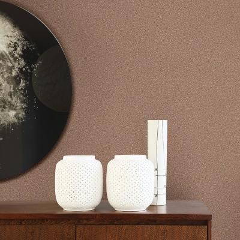 56.4 sq. ft. Davis Copper Speckled Texture Wallpaper