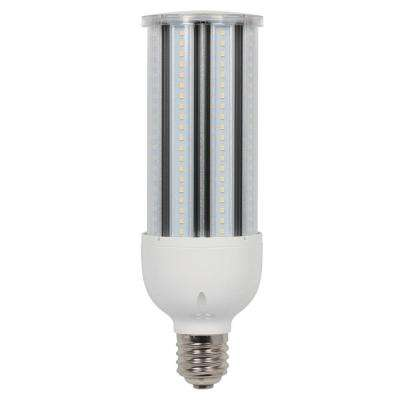 400-Watt Equivalent Daylight T28 Corn Cob Mogul Base LED Light Bulb