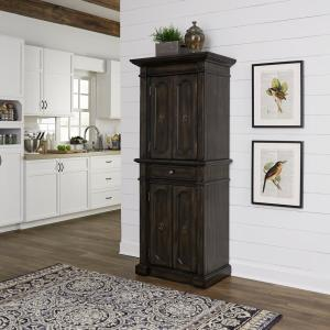 cabinets for kitchen storage home styles hacienda oak walnut food pantry 5077 69 the 5077