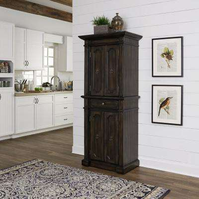 Hacienda Oak Walnut Food Pantry