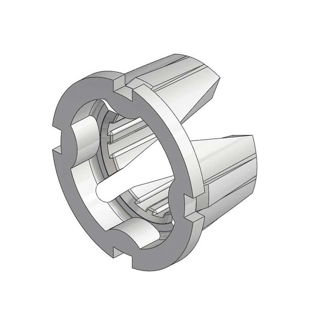 1/2 in. Grooved Insert for Use in 601 Series Brackets (Bag