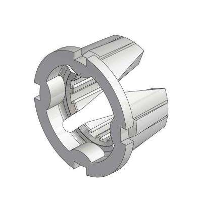 1/2 in. Grooved Insert for Use in 601 Series Brackets (Bag of 100)