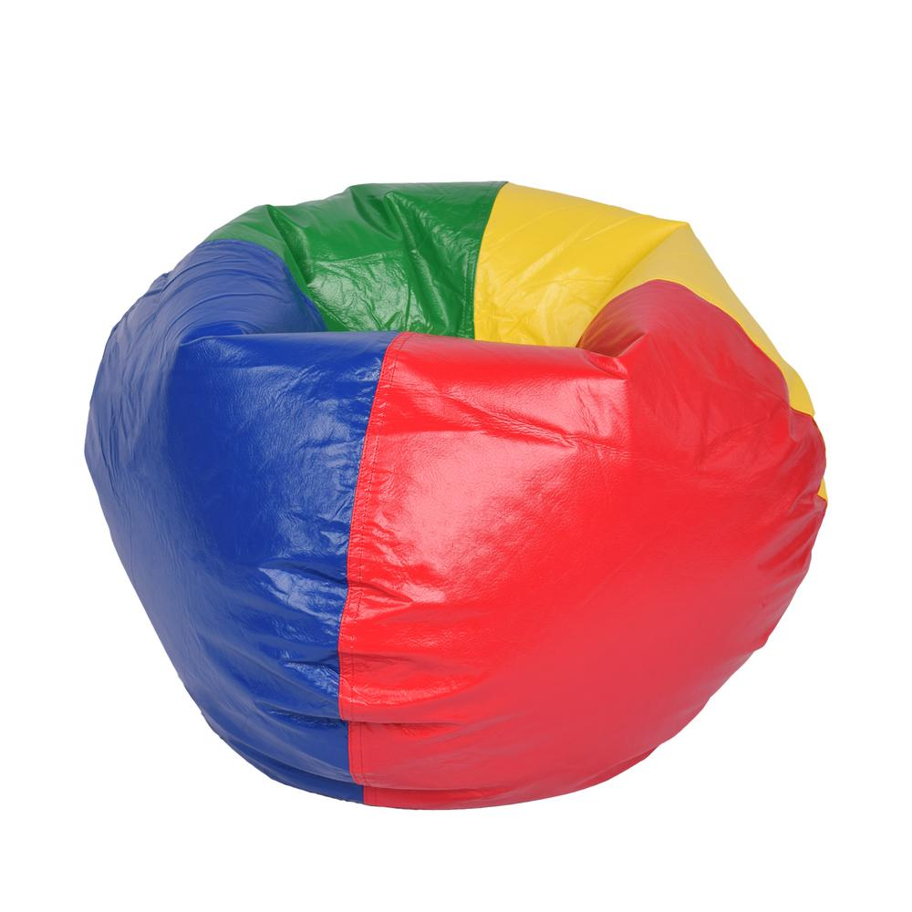 Multi-Color Vinyl Bean Bag