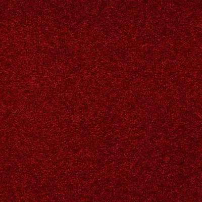 Carpet Sample - Enraptured I - Color Chinaberry Texture 8 in. x 8 in.