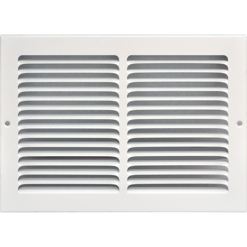 Speedi Grille 12 In X 8 In Return Air Vent Grille White