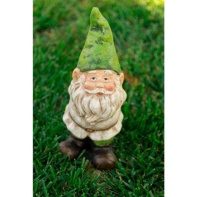 Gnome Statue with Hand Behind His Back